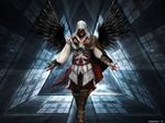 Ezio With Dark Wings