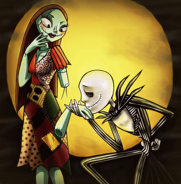 Jack And Sally By TheQueenOfManga On DeviantArt