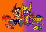 Crash And Spyro