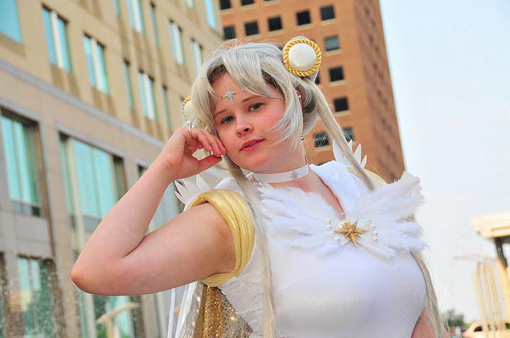 Sailor Cosmos Up Front by CosplayMom