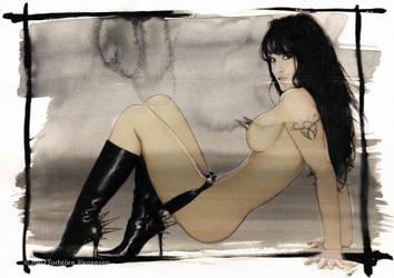 Lisa Boyle - Playmate by tobyvonkanobi