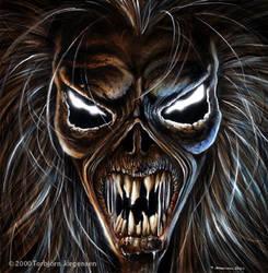 Iron Maiden by tobyvonkanobi