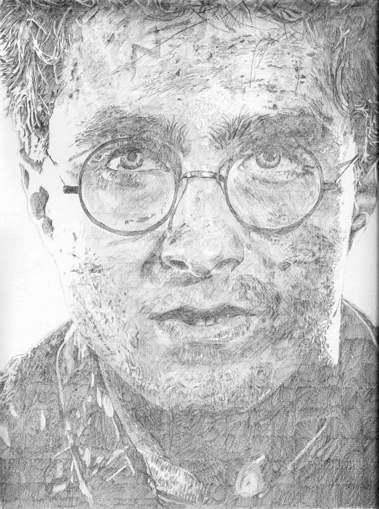 Harry Potter - It All Ends - Pencil portrait