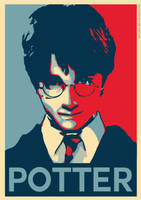 Harry Potter - Hope Poster by ArtClem