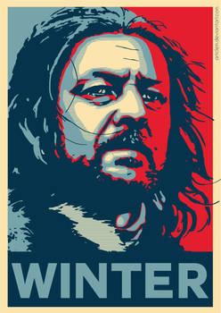 Ned Stark - Hope Poster
