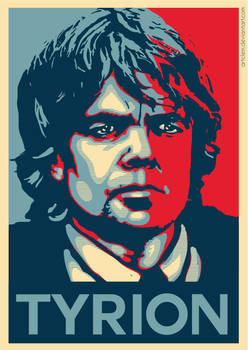 Tyrion Lannister - Hope Poster