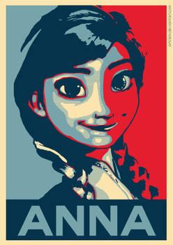 Anna - Frozen | Hope Poster