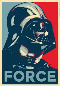 Darth Vader - Hope Poster