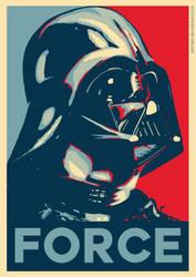 Darth Vader - Hope Poster by ArtClem