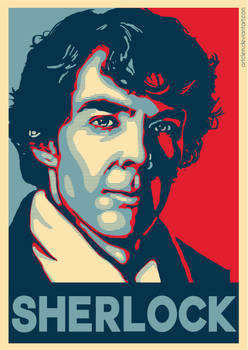 Sherlock - Hope poster Parody