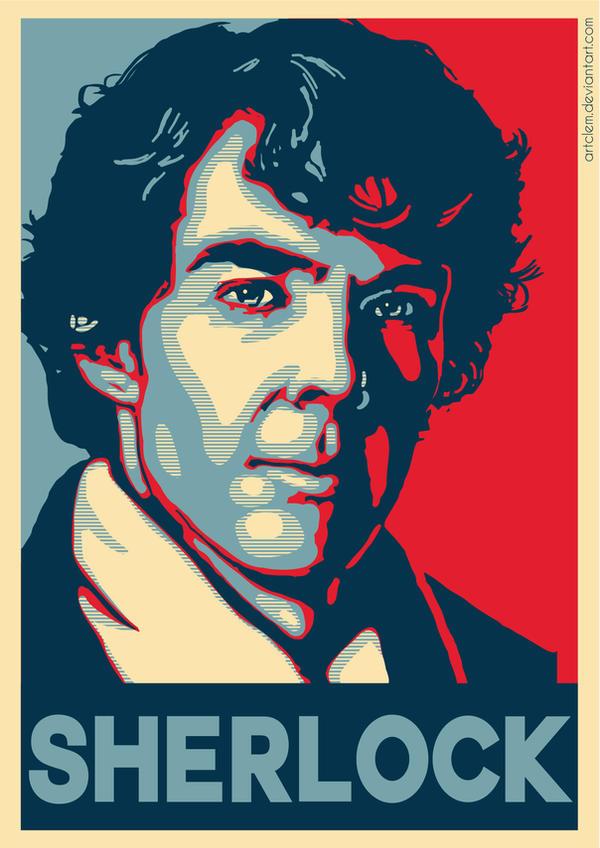 Sherlock - Hope poster Parody by ArtClem