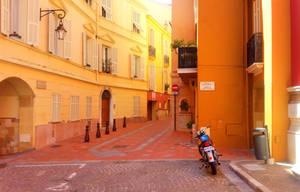 Street in Monaco by ArtClem