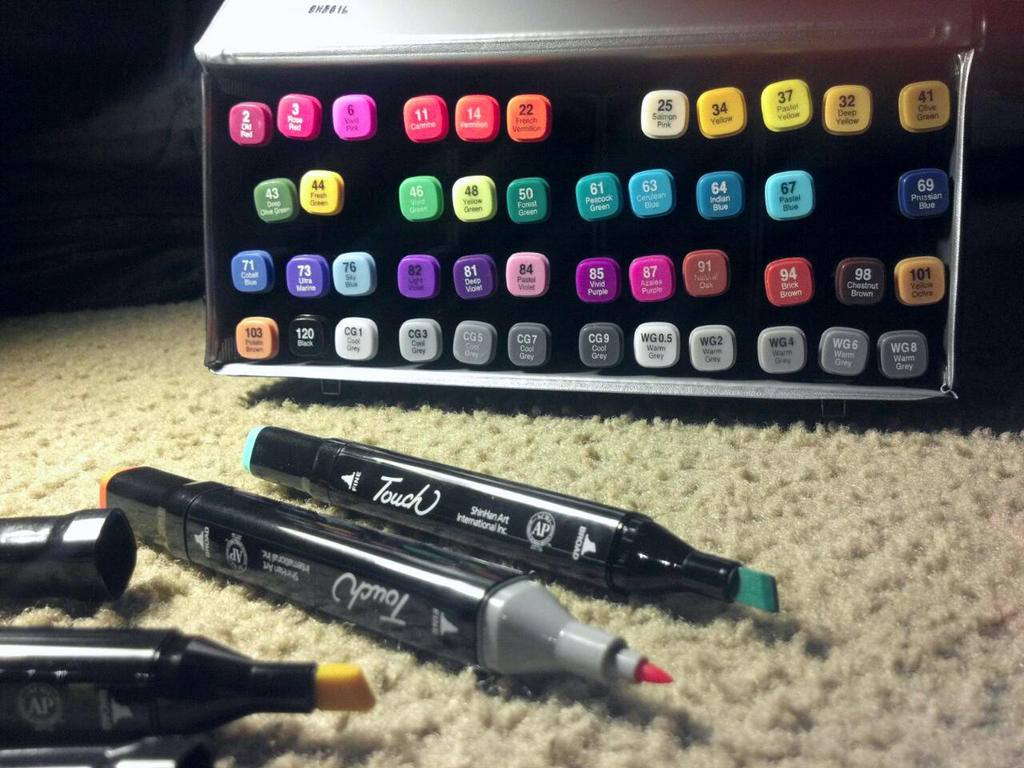Touch Markers by Juicebox617