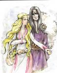 Idunn and Loki