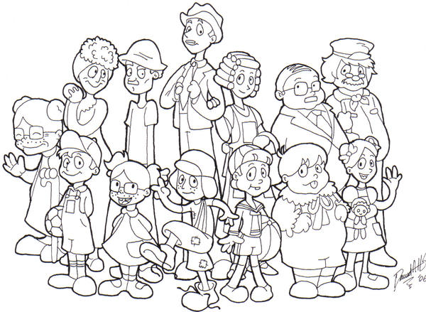 chavo coloring pages - photo#21