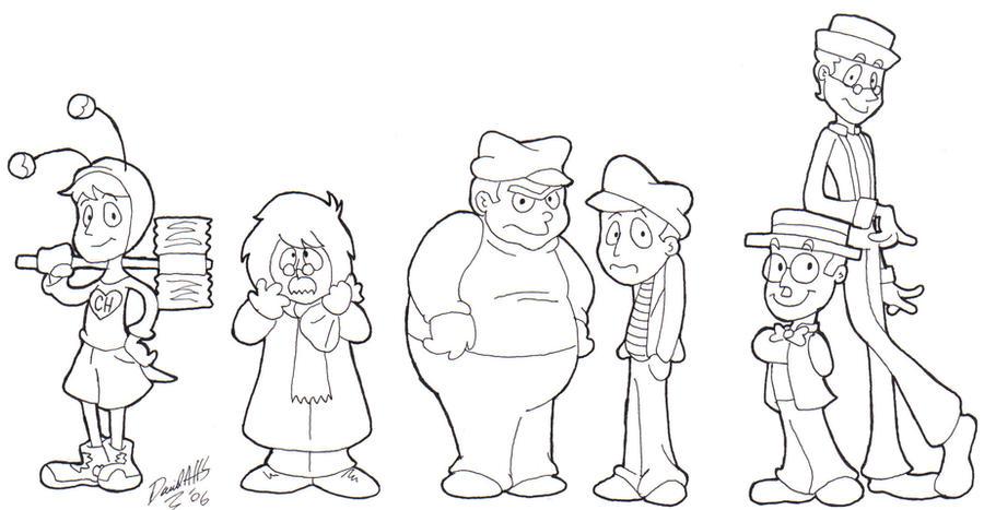 Del Chavo Animado Para Colorear Del Chavo Para Colorear