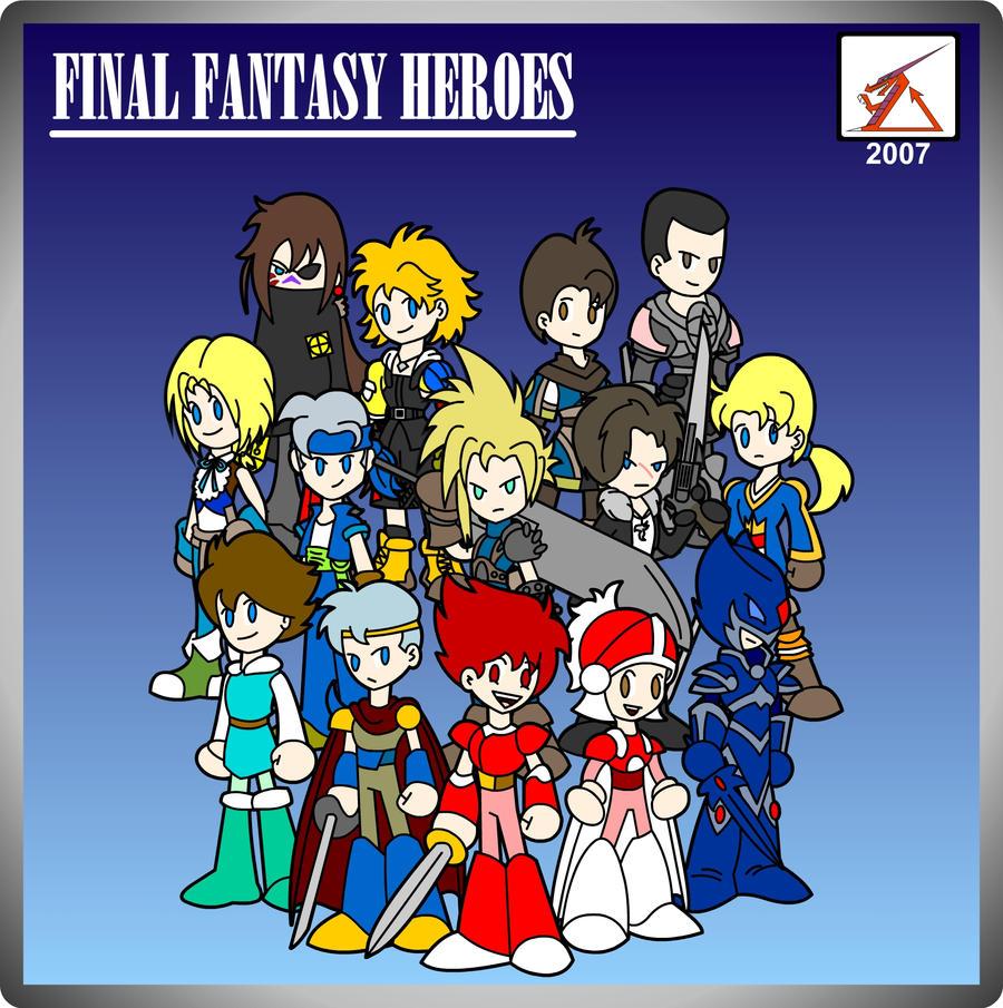 Fanart ''Final Fantasy Heroes'' by Delta Kaoz.jpg.
