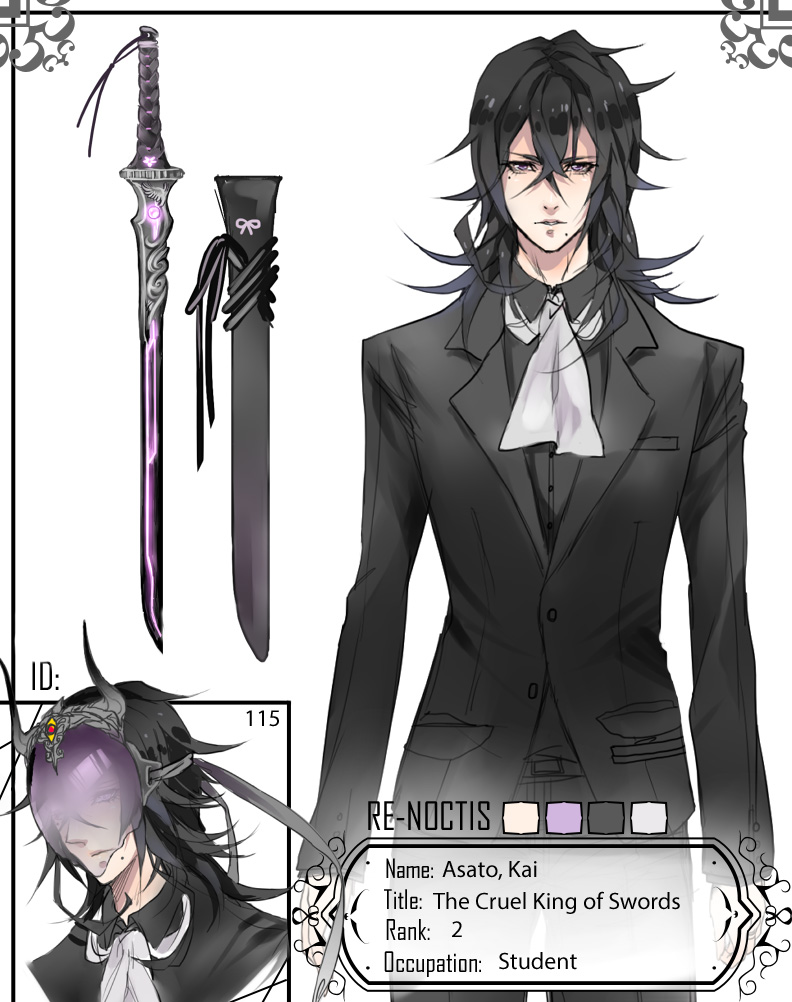 Re-Noctis: Kai by neobirdy