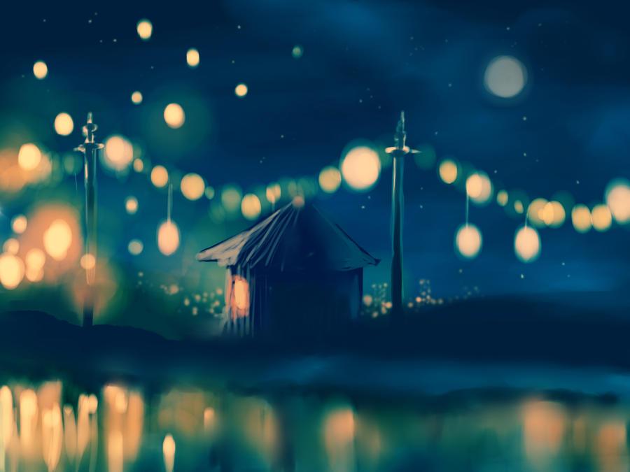 Lanterns by BraveCupcake