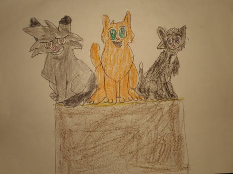 The Three Cat-ateers by Sabreleopard