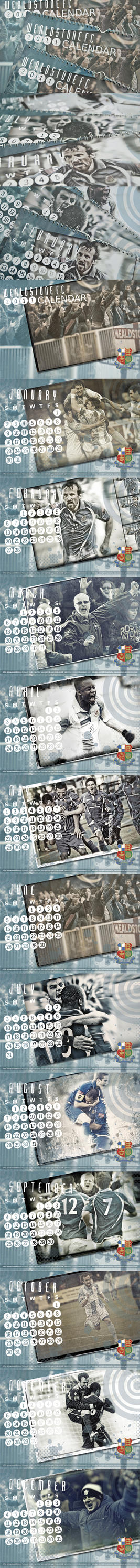 Wealdstone FC 2011 Calendar by aqueous-sun