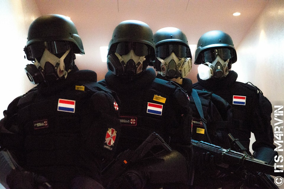 Populares Umbrella Corp - Imagicon 2014 - Charlie Squad by Shadowslayer159  RI83