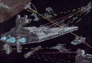 earth force vs empire by Babylon-5-Club
