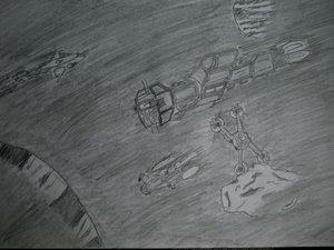 earth force ships on petrol by Babylon-5-Club