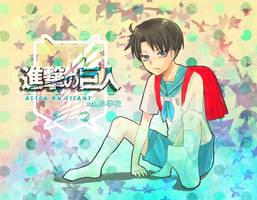 Levi-kun by mewwi12345