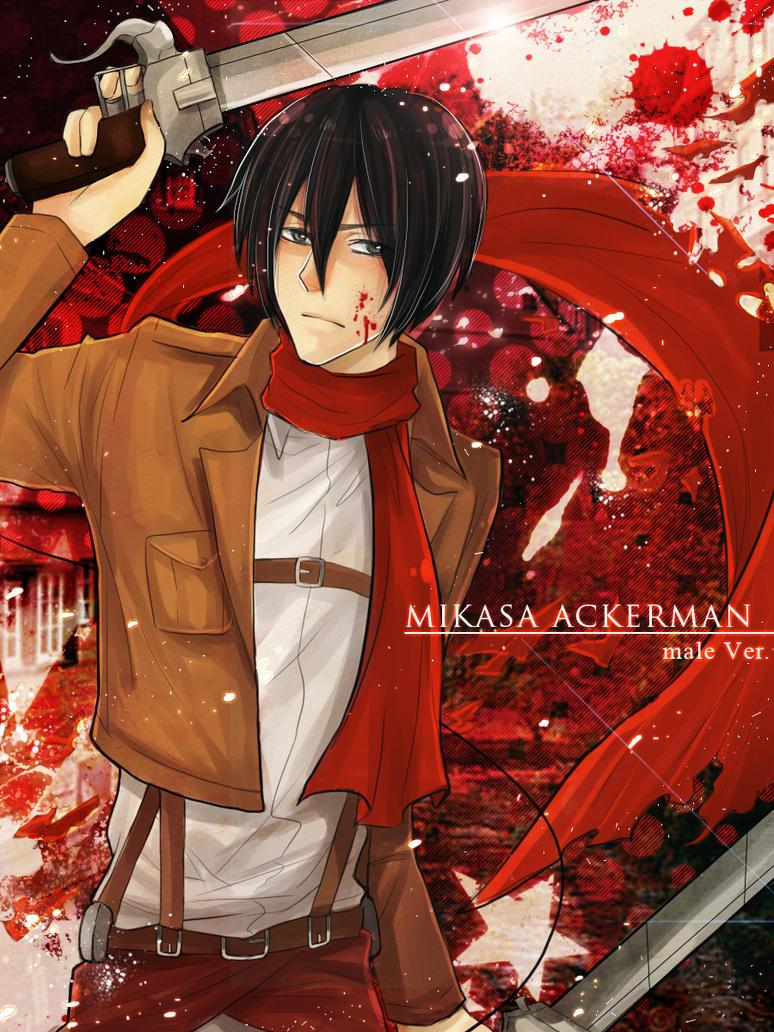 Mikasa Ackerman by mewwi12345
