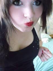 Leopard lips by skyyyscream