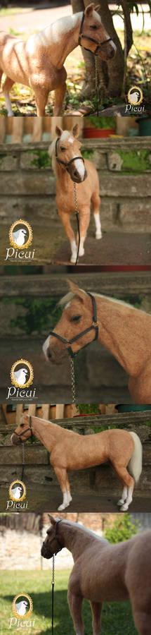 Needle Felted Criollo Horse v2