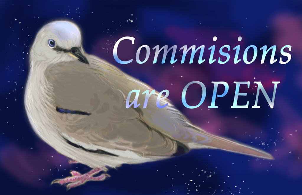 Commissions are open by PicuiDove