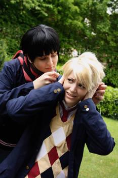 Kyoukai no Kanata: Sharing is caring