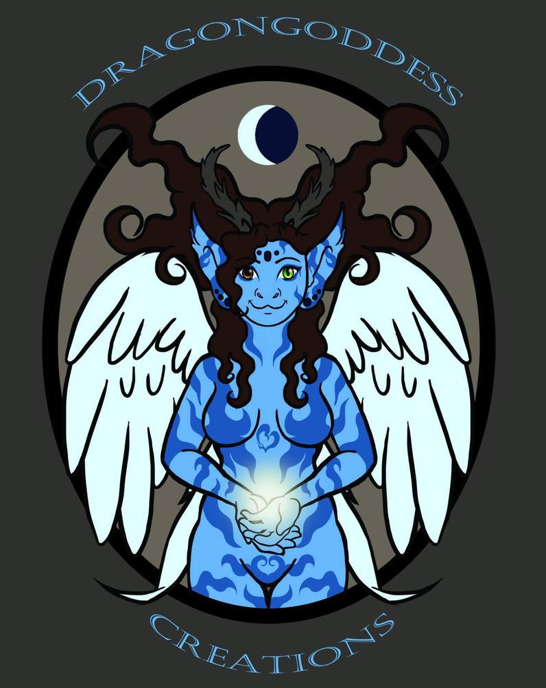 Dragongoddess Logo by dragongoddess