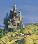 wood castle II