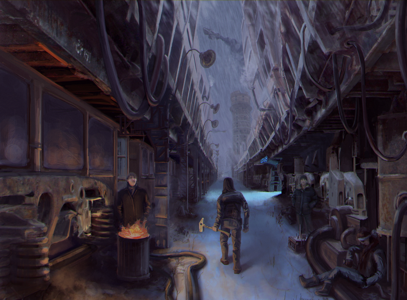 Korkino cyberpunked by NecRum-2111