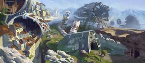 colonist's spaceship
