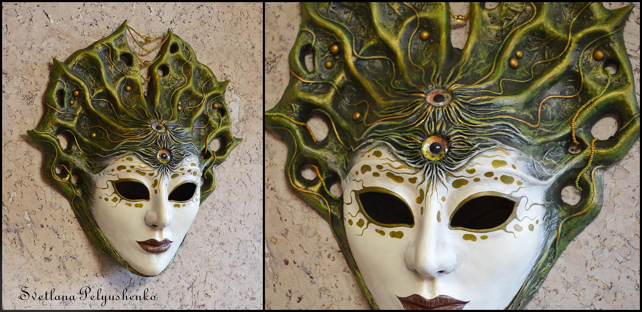 Paper and paper mache masks on mask makers deviantart for Paper mache mash