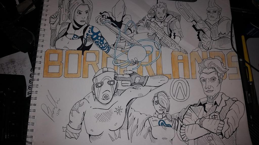 Borderlands by ravenclawtom