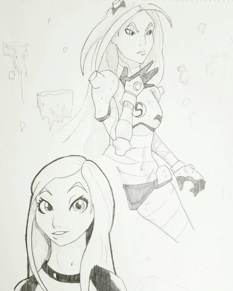 Teen Titans - Terra by ravenclawtom