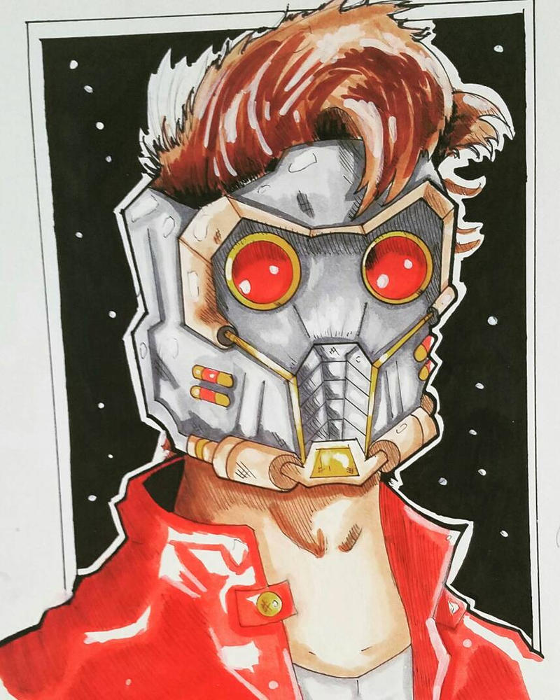 Starlord Colored by ravenclawtom
