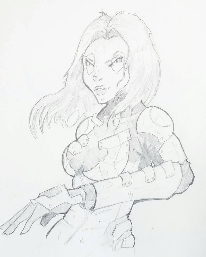 Gamora  by ravenclawtom