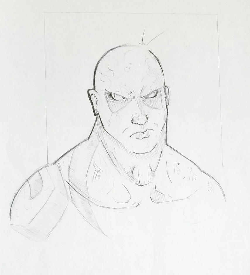Drax the Destroyer by ravenclawtom