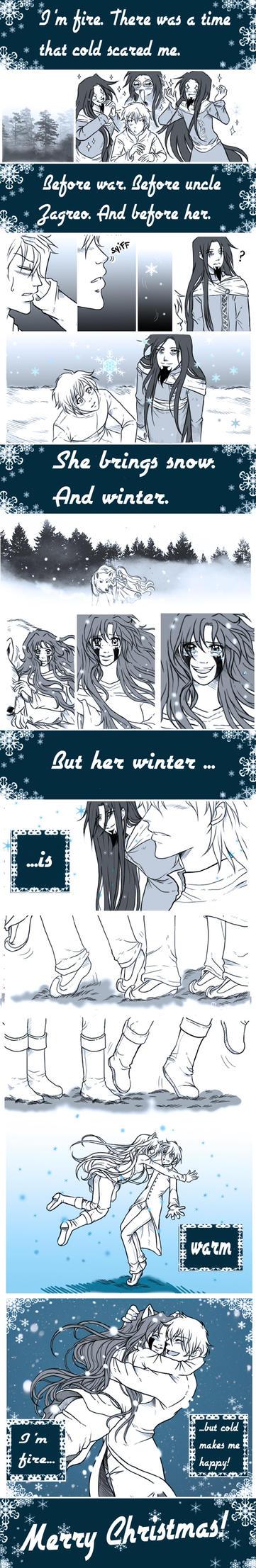 Warm Winter by Ellychan88