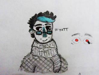 Oc Re-desing: Wyatt by BourbonTheManEater