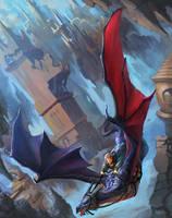 Dragon Rider Done by Kwehrek