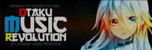 Otaku Music Revolution  New Youtube Banner