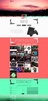 SunsetRainfall Website Design
