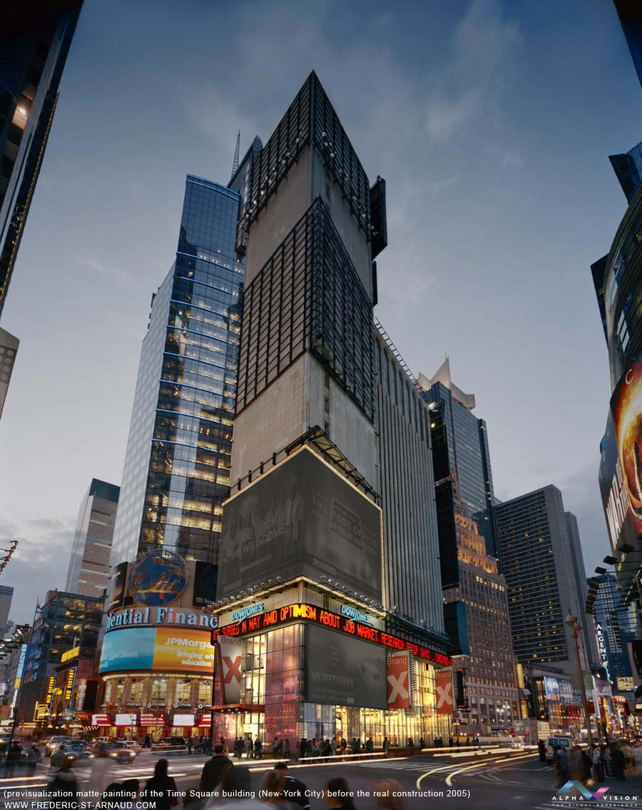 Time Square One by fstarno